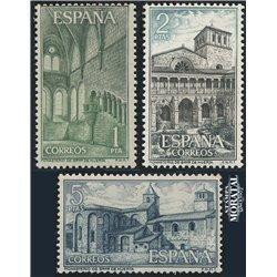 1964 Spanien 1440/1442  Huerta Kloster-Tourismus ** Perfekter Zustand  (Michel)