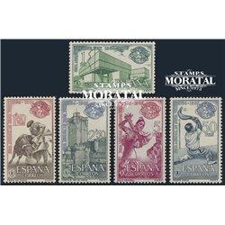 1964 Espagne 1242/1246  New York  **MNH TTB Très Beau  (Yvert&Tellier)