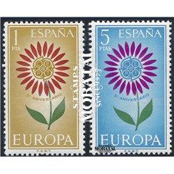 1964 Espagne 1271/1272  L'Europe Europe **MNH TTB Très Beau  (Yvert&Tellier)
