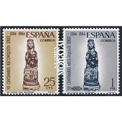 1964 Spanien 1504/1505  Alcázar  * Falz Guter Zustand  (Michel)