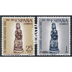 1964 Espagne 1284/1285  Alcazar  *MH TB Beau  (Yvert&Tellier)