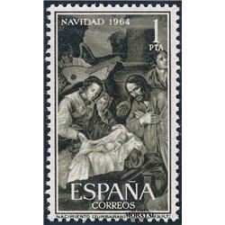 1964 Espagne 1294 Noël Noël **MNH TTB Très Beau  (Yvert&Tellier)