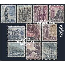 1965 Spanien 1535/1576  Tourist II Tourismus ** Perfekter Zustand  (Michel)