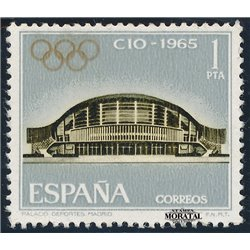 1965 Spanien 1567 IOC Amtlichen Stellen ** Perfekter Zustand  (Michel)