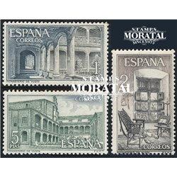 1965 Spanien 1578/1580  Yuste Kloster-Tourismus ** Perfekter Zustand  (Michel)