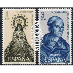 1965 Spanien 1587/1588  Philippinen  ** Perfekter Zustand  (Michel)