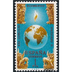 1965 Spanien 1590 Vatikan II Religiös ** Perfekter Zustand  (Michel)