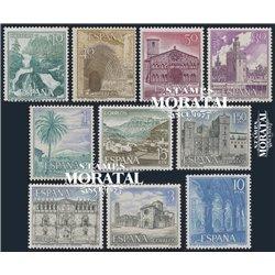 1966 Spanien 1616/1640  Touristischen III Tourismus ** Perfekter Zustand  (Michel)