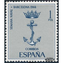 1966 Spanien 1624 Marine Barna Boote ** Perfekter Zustand  (Michel)