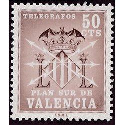 1964 España V-2 Escudo Valencia Valencia **MNH Perfecto Estado  (Edifil)