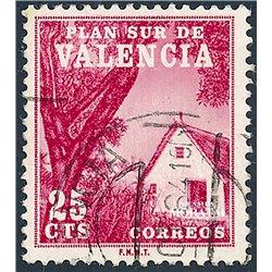 1964 España V-3 Barraca Valenciana Valencia © Usado, Buen Estado  (Edifil)
