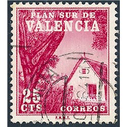 1964 Spain  Sc 0 Valencian Barraca Tourism (o) Used, Nice  (Scott)