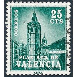 1966 España V-4 Miguelete (Micalet) Valencia © Usado, Buen Estado  (Edifil)