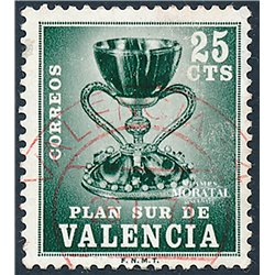 1968 Spain  Sc 0 Holy Grail Religious (o) Used, Nice  (Scott)