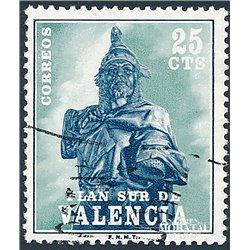 1975 España V-8 Jaime I Valencia © Usado, Buen Estado  (Edifil)