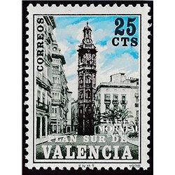 1978 España V-9 Santa Catalina Valencia **MNH Perfecto Estado  (Edifil)