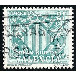 1985 Spanien 0 0 Wappen  © Gebrauchte, Zustand  (Michel)