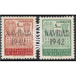 1942 Espagne 0 0  *MH TB Beau  (Yvert&Tellier)