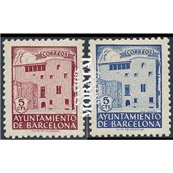 1943 Spanien 0 0  (*)Ungummiert, Guter Zustand  (Michel)