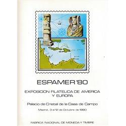 1980 Spanien 0 0  ** Perfekter Zustand  (Michel)