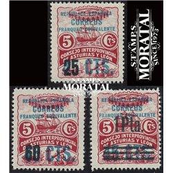 1937 Spanien 0 0  * Falz Guter Zustand  (Michel)