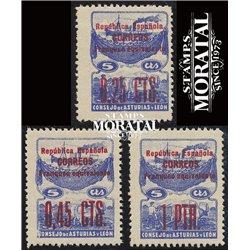1937 España L-NE 9/11 0 Asturias Leon *MH Buen Estado  (Edifil)