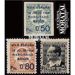 1936 España C-1/3  0 Canarias *MH Buen Estado  (Edifil)