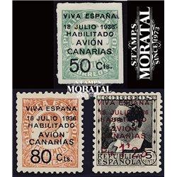 1937 España C-4A/7 0 Canarias *MH Buen Estado  (Edifil)