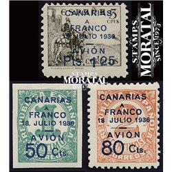 1937 España C-11/13  0 Canarias *MH Buen Estado  (Edifil)