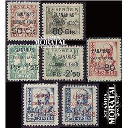 1937 España C-14/19 (18/19 **MNH) 0 Canarias   (Edifil)