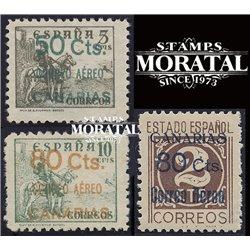 1937 España C-23/30 (Sin 24) 0 Canarias **MNH Perfecto Estado  (Edifil)