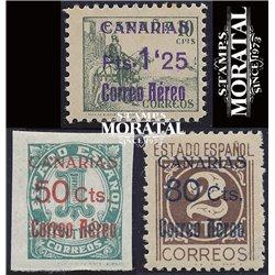 1937 España C-31/33  0 Canarias **MNH Perfecto Estado  (Edifil)