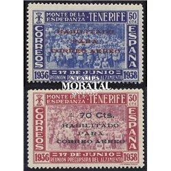 1938 España C-56/57  0 Canarias *MH Buen Estado  (Edifil)