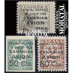 1937 España C-20/22  0 Canarias *MH Buen Estado  (Edifil)