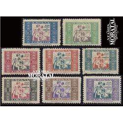 1934 España F-1/8  0 Beneficencia *MH Buen Estado  (Edifil)