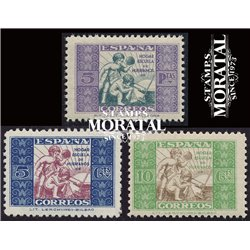 1937 Espagne 0 0  *MH TB Beau  (Yvert&Tellier)