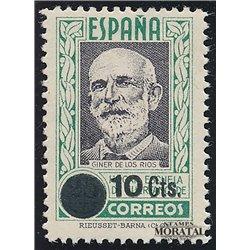 1938 España F-NE 32 0 Beneficencia (*)MNG Buen Estado  (Edifil)