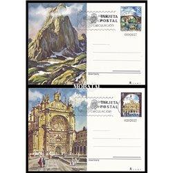 1977 España J-115/116 Tenerife Gran Canaria Entero postales   (Edifil)