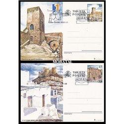 1988 España J-145/146 Cadiz Tarragona Entero postales   (Edifil)