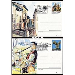 1989 España J-147/148 Saria Alava Entero postales   (Edifil)