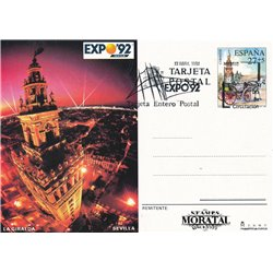 1991 España J-151/152 Guadalaraja San Sebastian Entero postales   (Edifil)