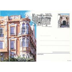 1993 España J-155/156 Orense Leon Entero postales   (Edifil)