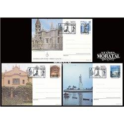 1994 España J-157/158 Ceuta Granada Entero postales   (Edifil)