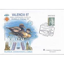 1997 España G-38 0 Sobres Oficiales   (Edifil)