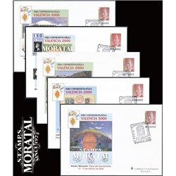 1999 España G-55/56 Velazquez Sobres Oficiales   (Edifil)