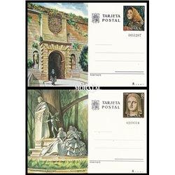 1975 España J-111/112 Cuenca Jaen Entero postales   (Edifil)