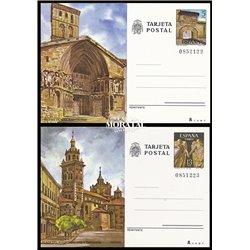 1978 España J-117/118 Ibiza Sevilla Entero postales   (Edifil)
