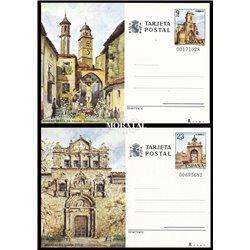 1980 España J-121/122 Espamer 80 Entero postales   (Edifil)