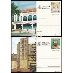 1983 España J-133/134 Avila Lugo Entero postales   (Edifil)