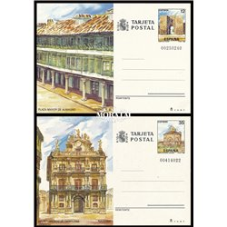 1984 España J-135/136 España 84 Entero postales   (Edifil)